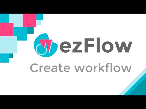 Create workflow in Google Documents - ezFlow
