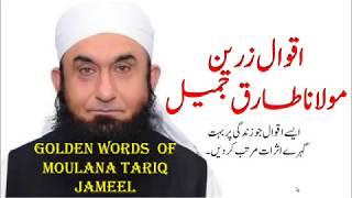 Moulana Tariq Jameel Quotes in Urdu/Hindi | Aqwal e zareen of Moulana Tariq Jameel in Urdu - Hindi