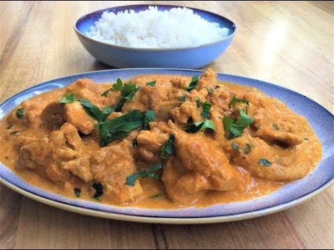 'BUTTER CHICKEN' (Batı Çikın) TARİFİ - Hint Mutfağından Tereyağlı Tavuk