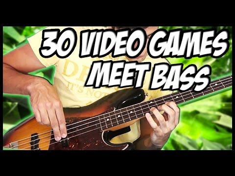 30 Great Video Games Meet Bass