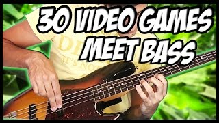 30 Great Video Games Meet Bass