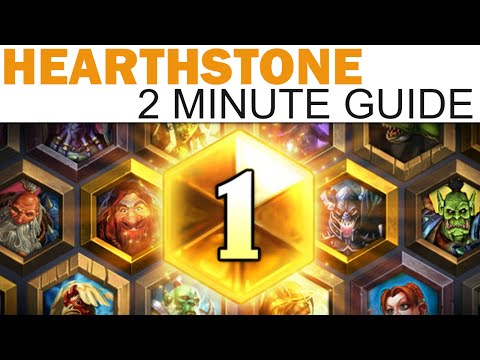 Hearthstone - 2 Minute Guide - Casual & Ranked Play Deck Building! (Whispers of the Old Gods)