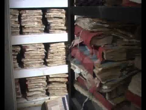Old Revenue Department Paper Files Record Converted Into Computerized Record Room Pkg By Asif Jafri