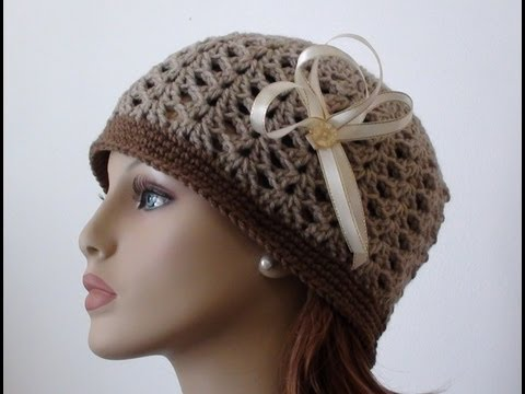Crochet Shell Beanie - How to Crochet Shell Beanie