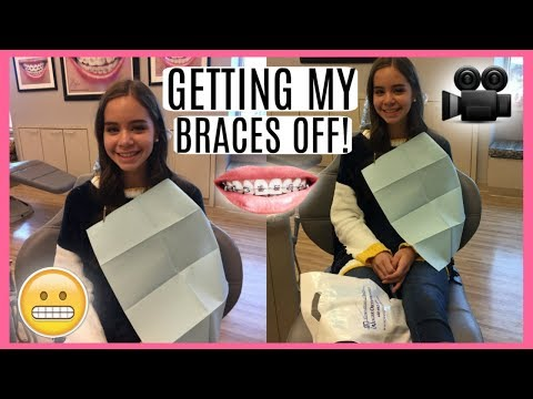 Getting My Braces Off! + Getting My Retainers!