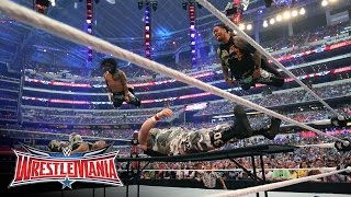 The Usos vs. The Dudley Boyz: WrestleMania 32 Kickoff