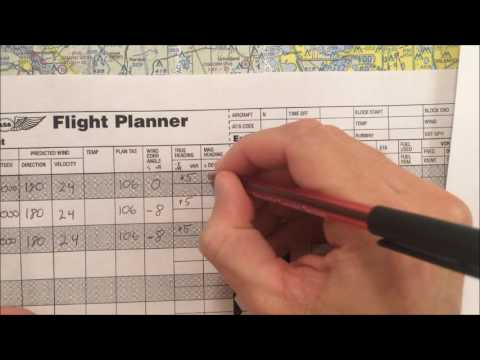 VFR Nav Log (Video 6)  Magnetic Variation, Deviation, Compass Heading