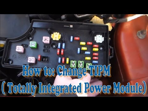 How to: Change TIPM ( Totally Integrated Power Module) Part #1