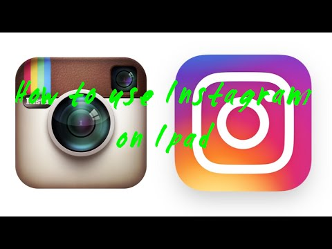 How to use Instagram on Ipad