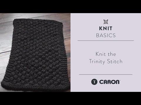 How To Knit the Trinity Stitch