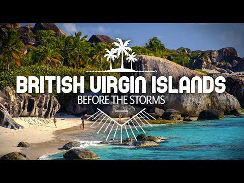 British Virgin Islands—Before the Storms (Virgin Gorda, Cooper Island, and Norman Island)
