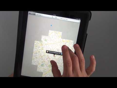 Cómo usar Google Maps en el ipad