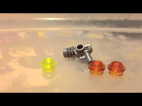 Custom ray gun(Lego mini figure size)