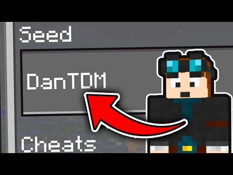 Minecraft : WE FOUND DANTDM IN THIS SEED! (Ps3/Xbox360/PS4/XboxOne/WiiU)