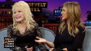 Jennifer Aniston Told Dolly Not to Pee On Her Rug