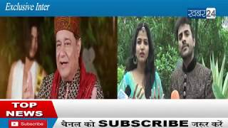 Exclusive Interview  Vicky  & Anuja sung Hare Krishna   by Band Rutbaa