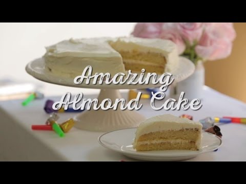 How to Make: Amazing Almond Cake