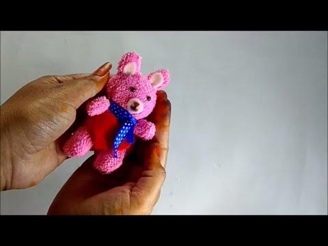 DIY Teddy Bear Made of Towel // Easiest Way of Making Teddy Bear // How to Make Teddy Bear Tutorial