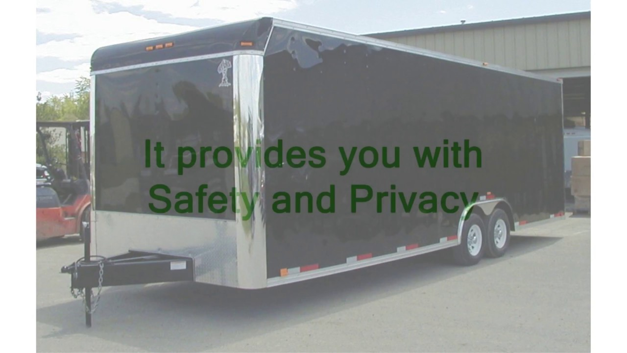 Enclosed Snowmobile Trailers in Park City - Reasons To Choose An Enclosed Trailer