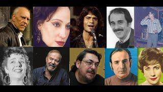 Έλληνες τραγουδιστές και συνθέτες που πέθαναν  μέσα στο 2019