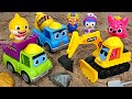 Let39s Help Duplo39s Friends With Pinkfong Heavy Equipment PinkyPopTOY