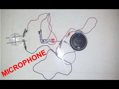 How to Make Microphone at Home