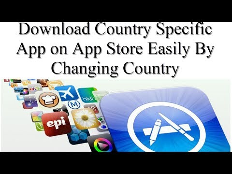 Easily Change the Country on Apple App Store to Download Country Specific Apps