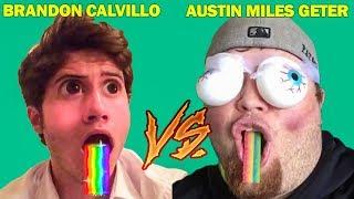 Austin Miles Geter Vines Vs Brandon Calvillo Vines (W/Titles) Best Vine Compilation 2017