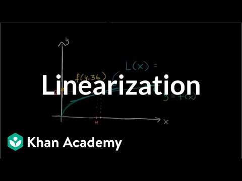 Local linearization | Derivative applications | Differential Calculus | Khan Academy