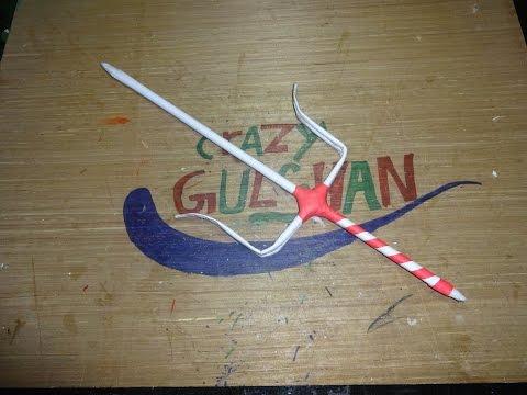 How to Make a Paper Sai Sword - Ninja Weapon