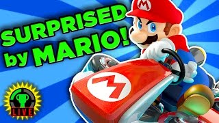 SURPRISED BY MARIO IRL! | Mario Kart 8 Deluxe