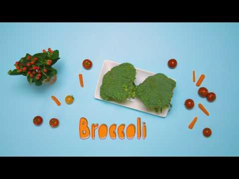 /ˈso͞opərˌfo͞od/ presents Broccoli!