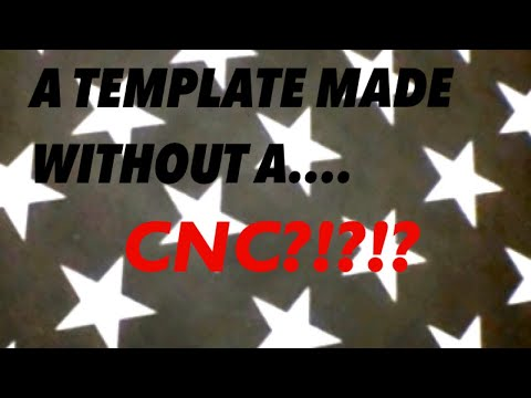 Star Template for American Flag Builds