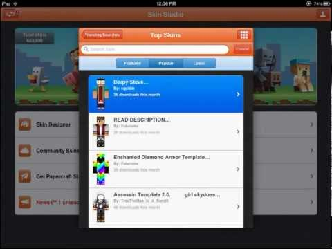 How To Get Skins In Minecraft PE!
