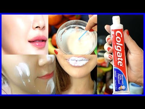 See What Happens When You Apply Toothpaste On Your Skin | Toothpaste Beauty Hacks