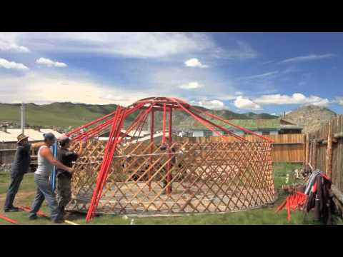Building a Mongolian Ger, fast