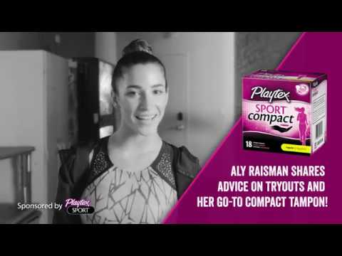 "Aly Raisman Gives Gold Medal Advice on ""Tryouts"""