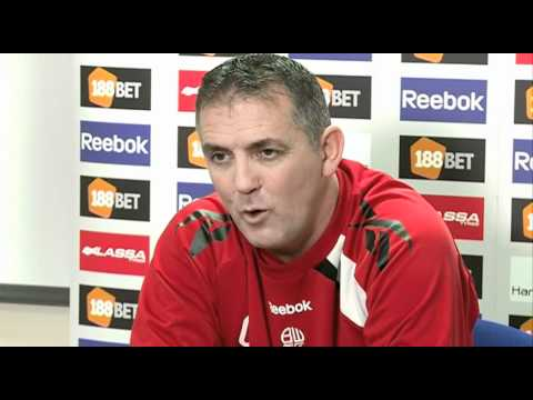 Coyle on the Blackburn game being biggest of season | Fulham 2-0 Bolton - Premier League 2011-12