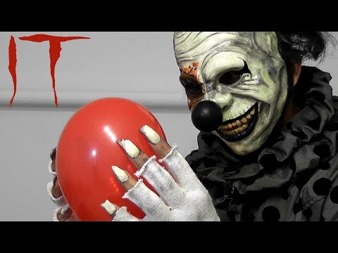 IT Pennywise 2017\How to make evil clown hands\claws