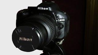 Nikon D5200 AutoFocus Test with Nikkor 18 - 55mm lens