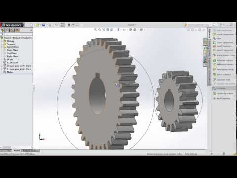 SPUR GEAR DESIGN with SOLIDWORKS TOOLBOX 2014