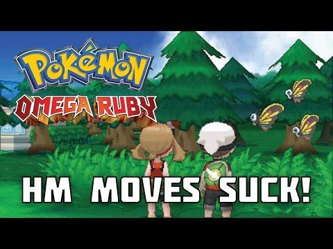 Pokemon ORAS: HM Moves Still Suck!