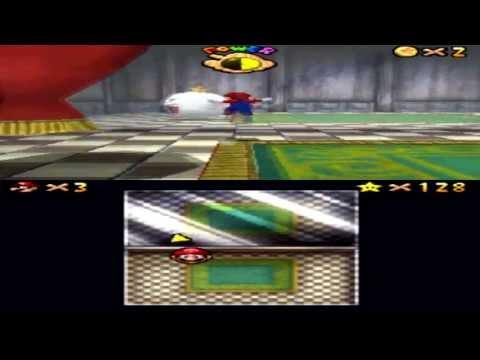 How to Unlock Luigi in Super Mario 64 DS