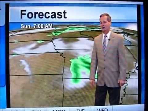 Meteorologist who looks and sounds like Bill Murray as a weatherman