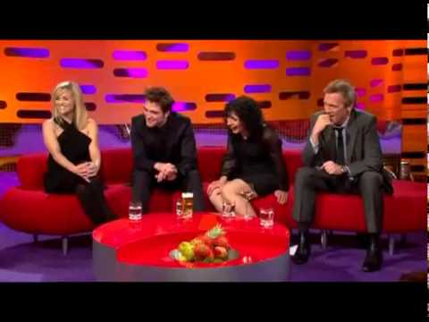 Graham Norton's reaction to the New Zealand accent