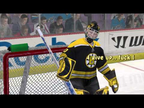 NHL09 PC bugs glitches stupid goals gameplay