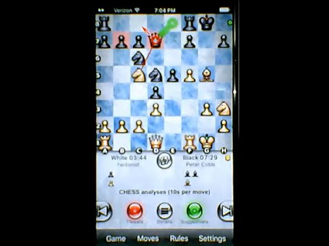Analyze Chess Games on the iPhone or iPad with Chess Pro