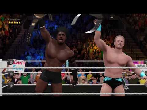 Wwe2k17 Story mode Title match