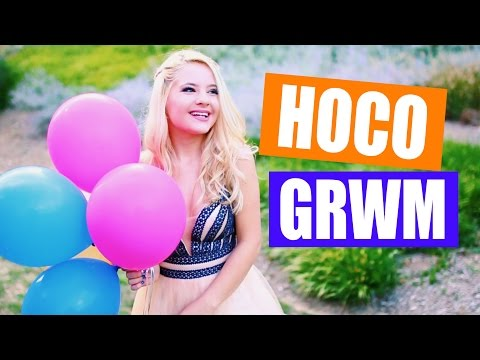 Get Ready With Me for Homecoming!