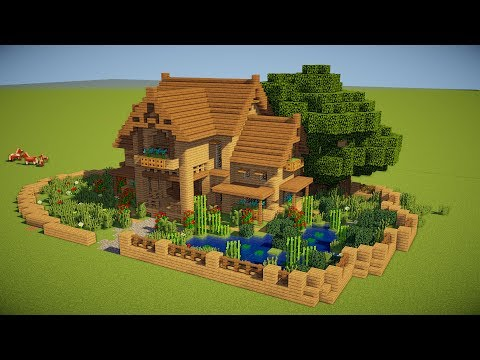 5 TIPS TO MAKE A BETTER HOUSE IN MINECRAFT (PS4, Xbox One, PS3, Xbox 360, PC, PE)